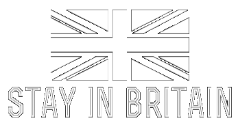 Stay In Britain Sticky Logo
