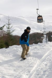 Nevis Range Snowboarding
