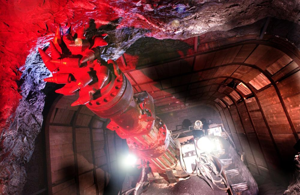 Coal mine museum in Wales
