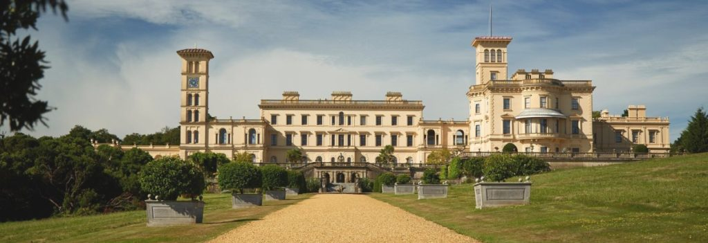 Osbourne House on the Isle of Wight