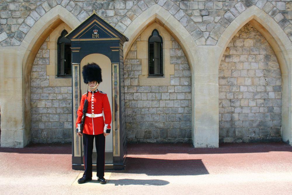 Windsor Castle - Guard
