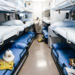 Royal Marine accommodation on HMY Britannia